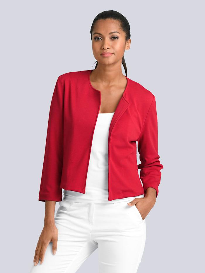Alba Moda Bolero-Blazer in aufregender Modefarbe, Rot