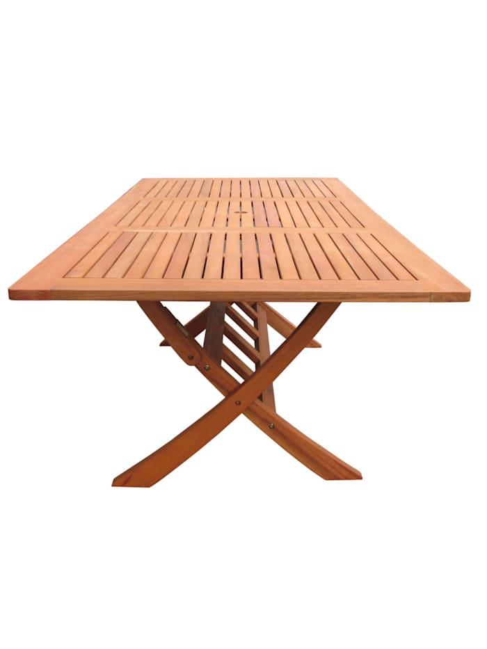 Gartentisch Santos 200x100cm  Holztisch Esstisch Klapptisch