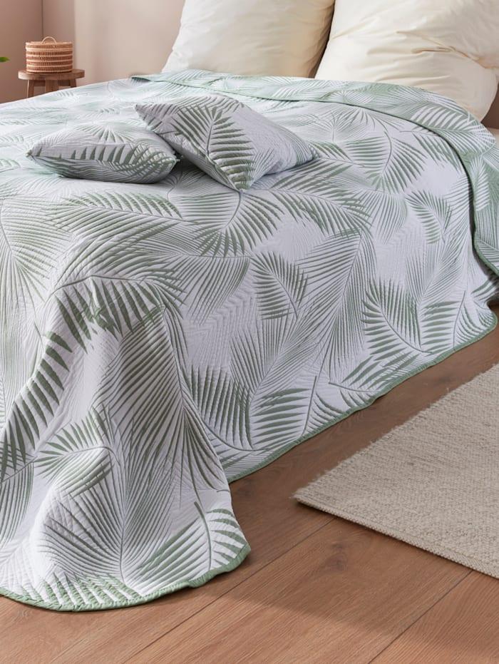 Webschatz Bettüberwurf 'Sofia', Grün