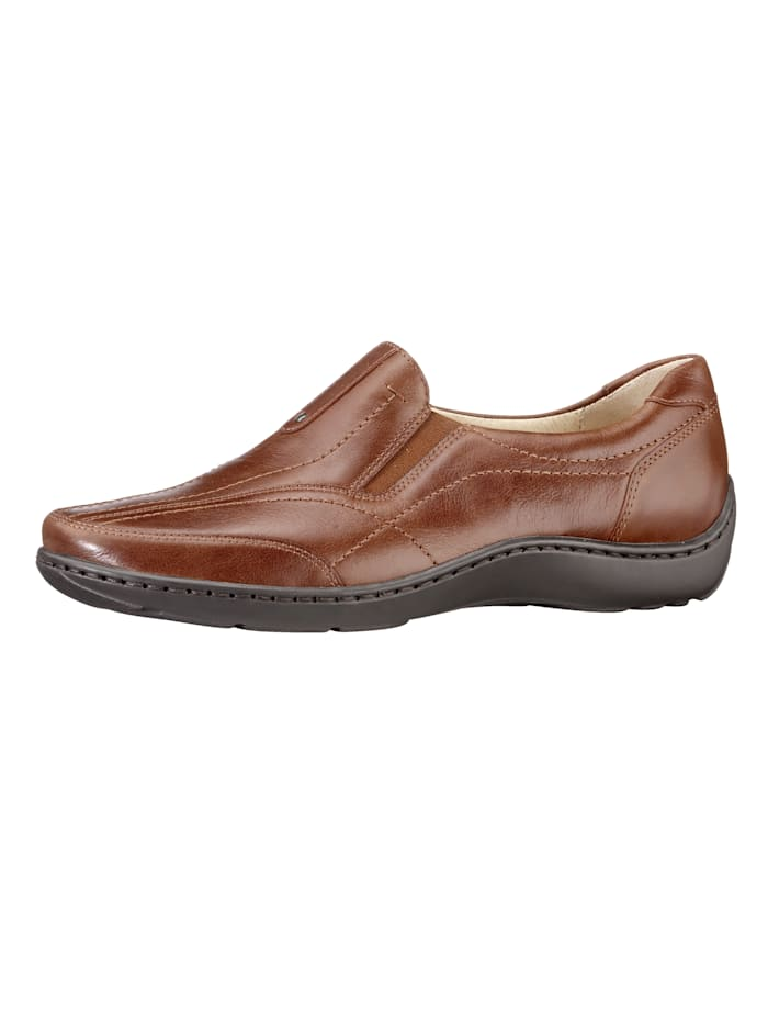 Waldläufer Slipper, Cognac