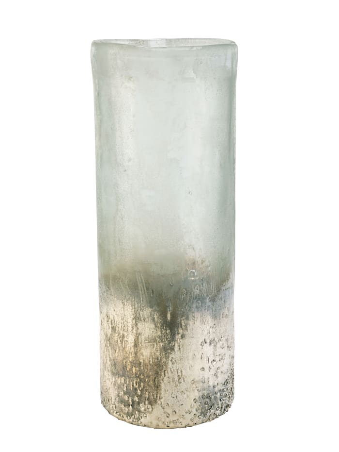 MARAVILLA Vase, grau/silberfarben