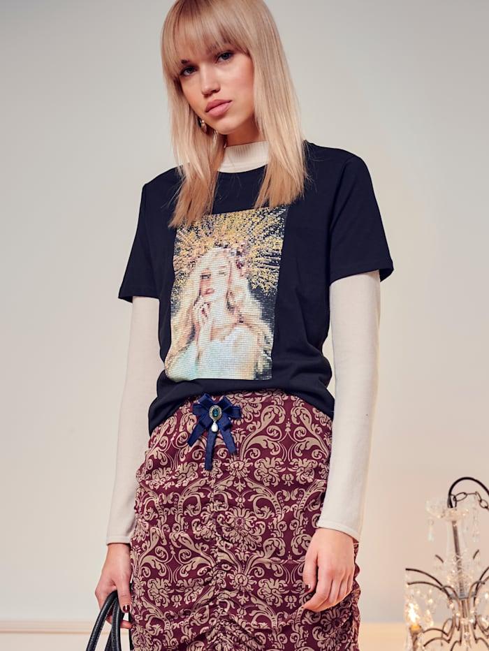 Shirt mit Kunstdruck