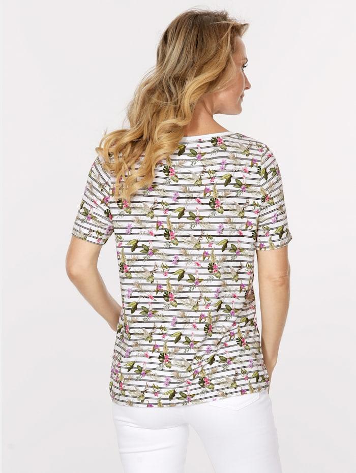T-shirt à différents motifs