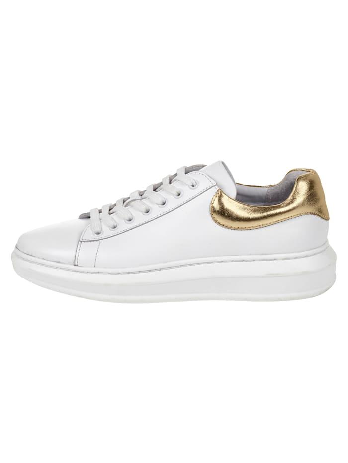 REKEN MAAR Sneakers, Blanc