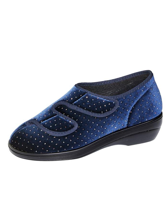 Varomed Chaussures d'intérieur, Bleu