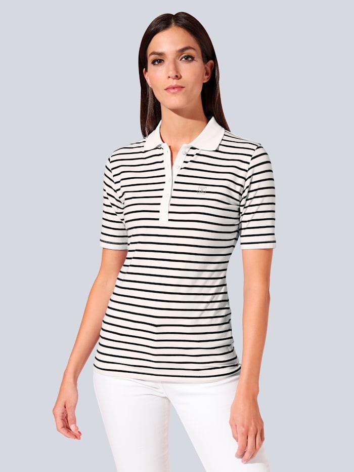 JETTE JOOP T-Shirt im schönen Streifendessin, Weiß