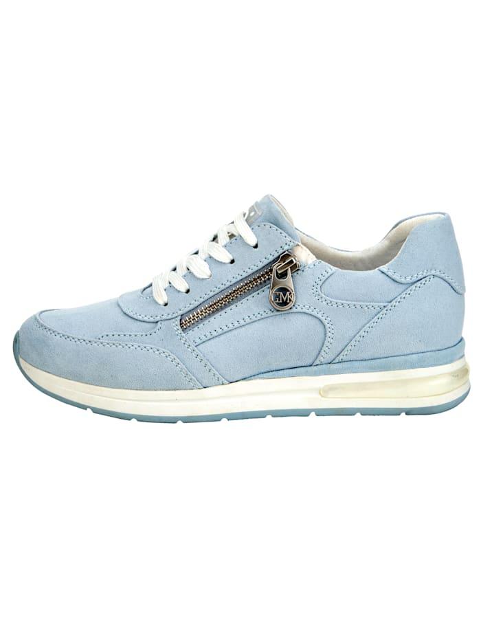 Sneaker mit seitlichem Reißverschluss