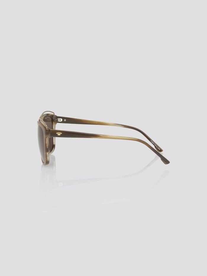 Wayfarer Sonnebrille mit breitem Rahmen