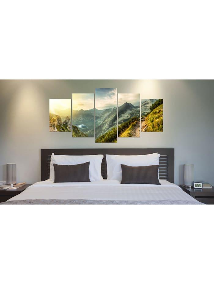 Wandbild Slovak mountain landscape