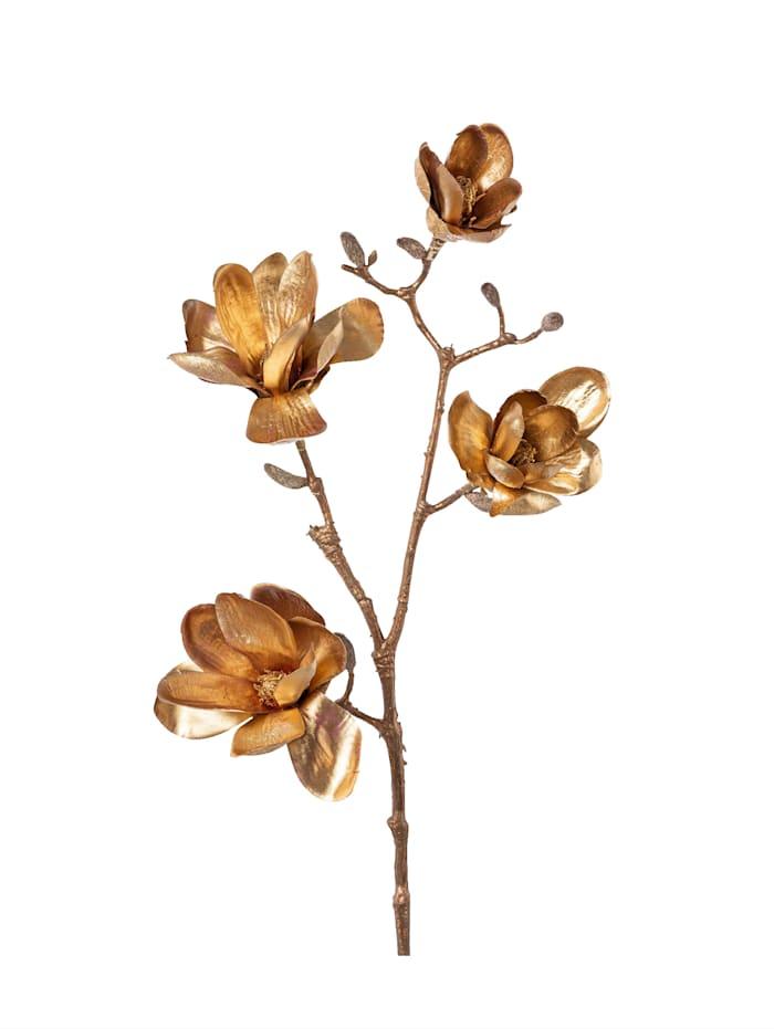 Creativ Deco Magnolienzweig, goldfarben