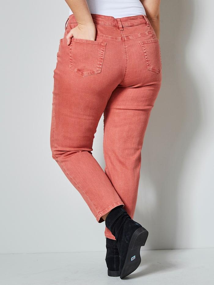 Slim Fit Jeans knöchellang in 5-Pocket-Form