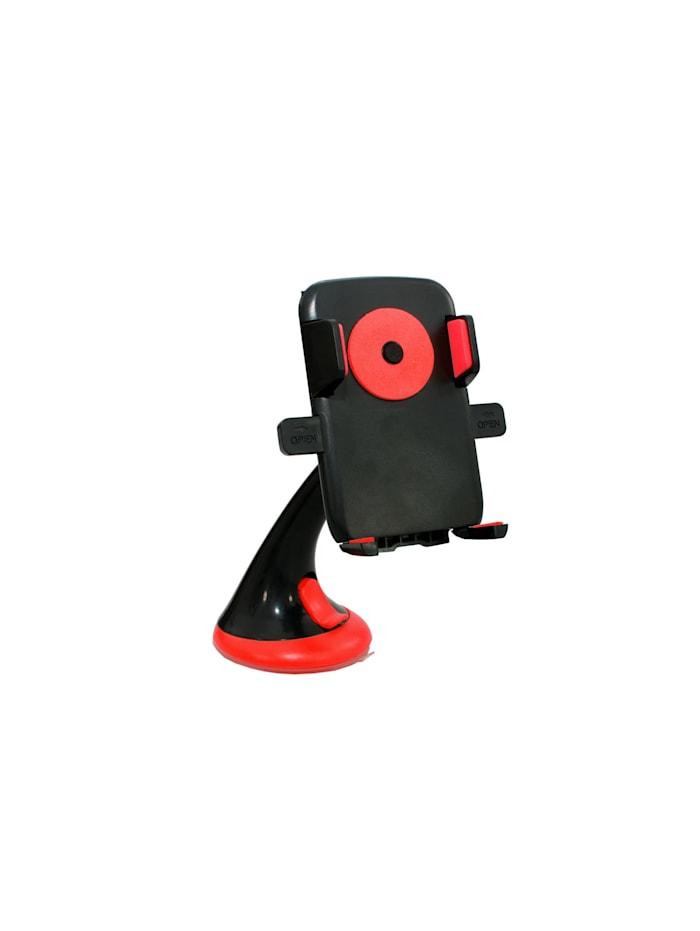 HTI-Line Handyhalter mit Saugnapf, Schwarz