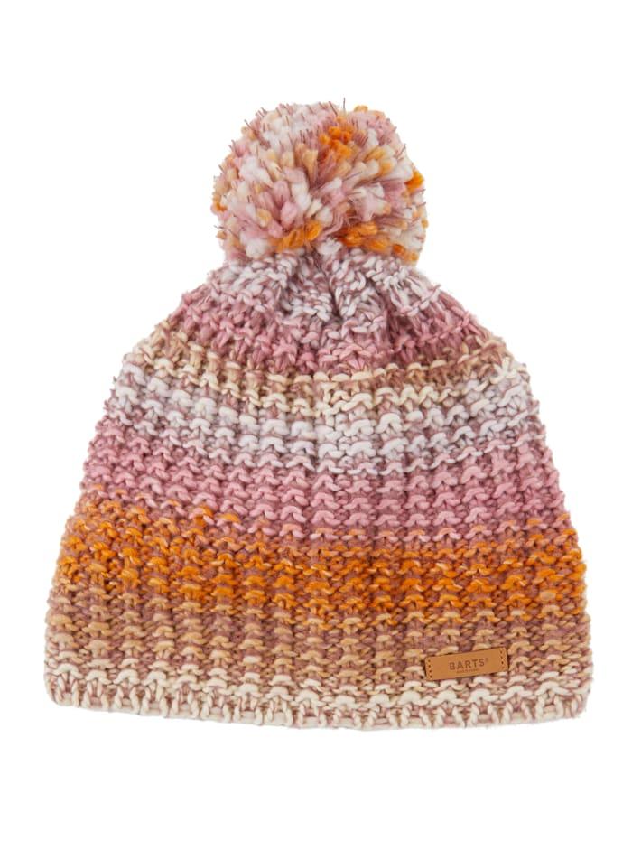 Barts Mütze mit Bommel, Rosé