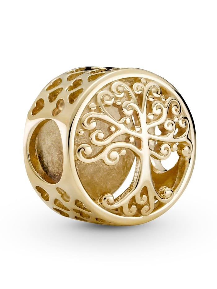 Pandora Charm -Familienstammbaum- 14K Gold 759132C00, Gelbgoldfarben