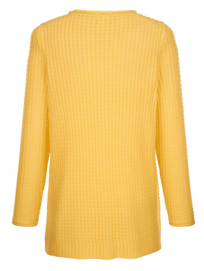 Pullover aus schönem Ajourstrick