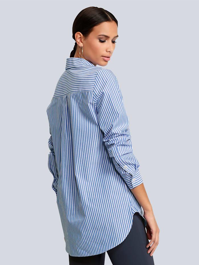 Bluse in modischer Oversized Form