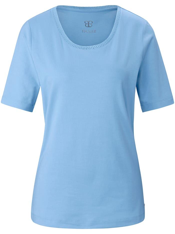 Basler T-Shirt aus unifarbenem Jersey, air