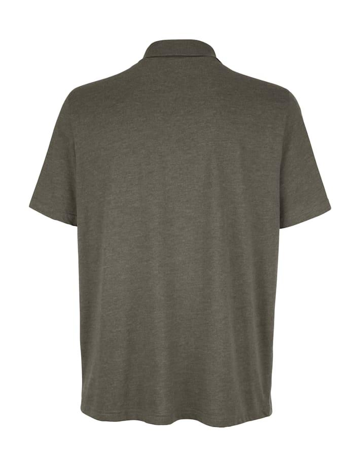 Poloshirt met handige borstzak