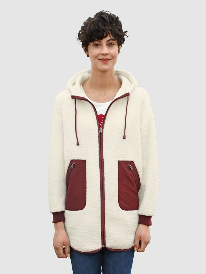 Dress In Sweatshirtjacka i härligt mjukt material, Bär