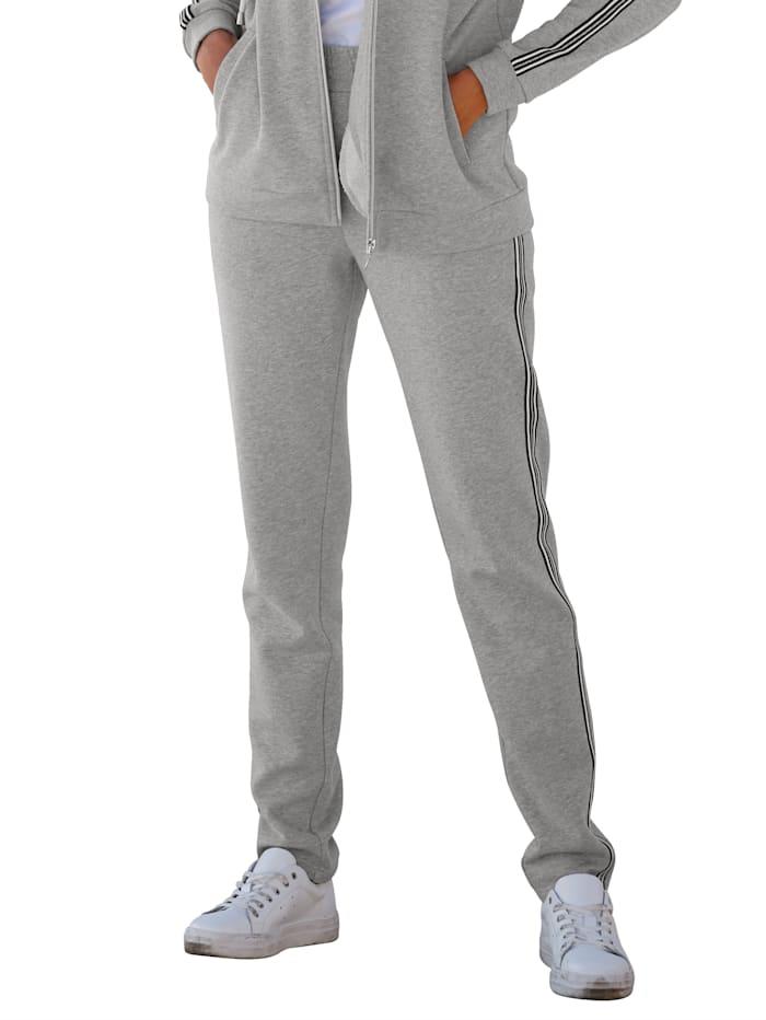 Joggpants i sweatshirtmaterial
