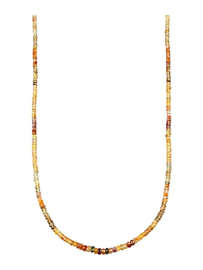 Diemer Farbstein Zirkon-Kette, Multicolor