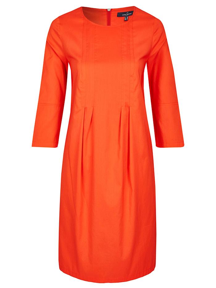 Daniel Hechter Kleid mit raffinierten Falten, Aperol