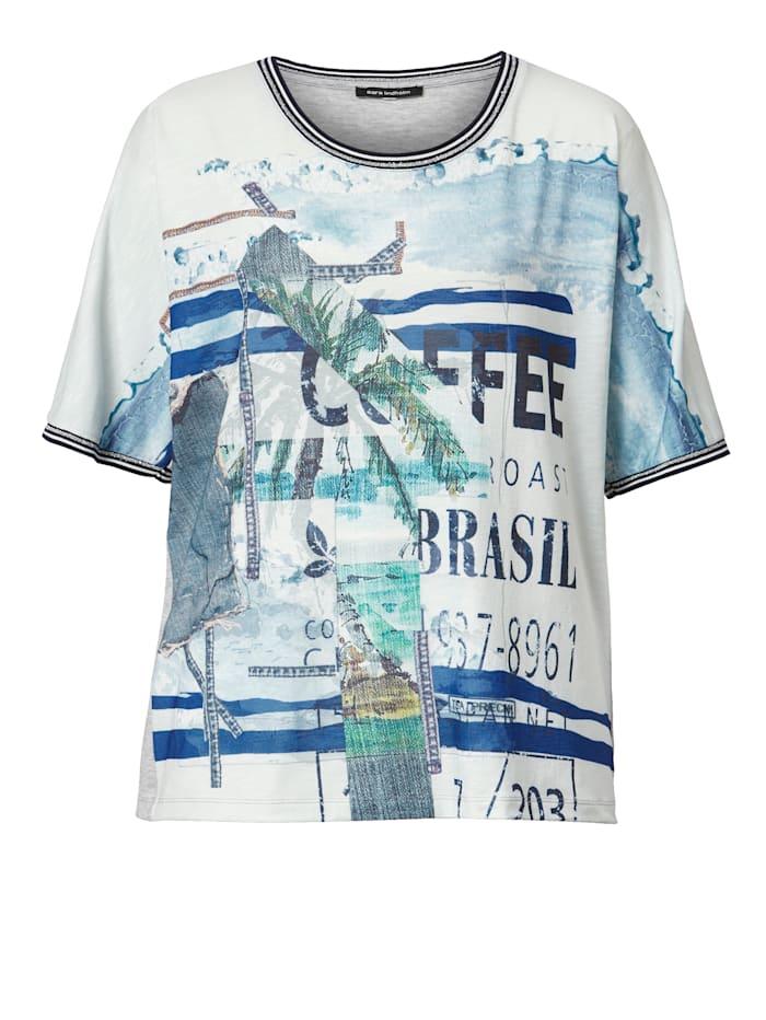 Shirt mit Druckmix