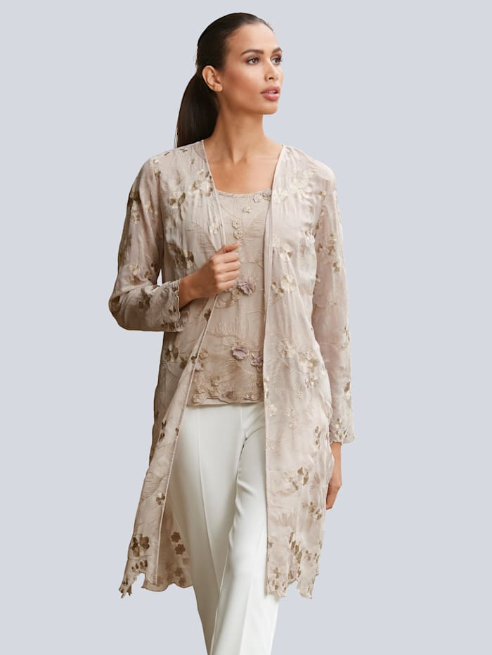 Alba Moda Kimono av brodyr, Mullvad