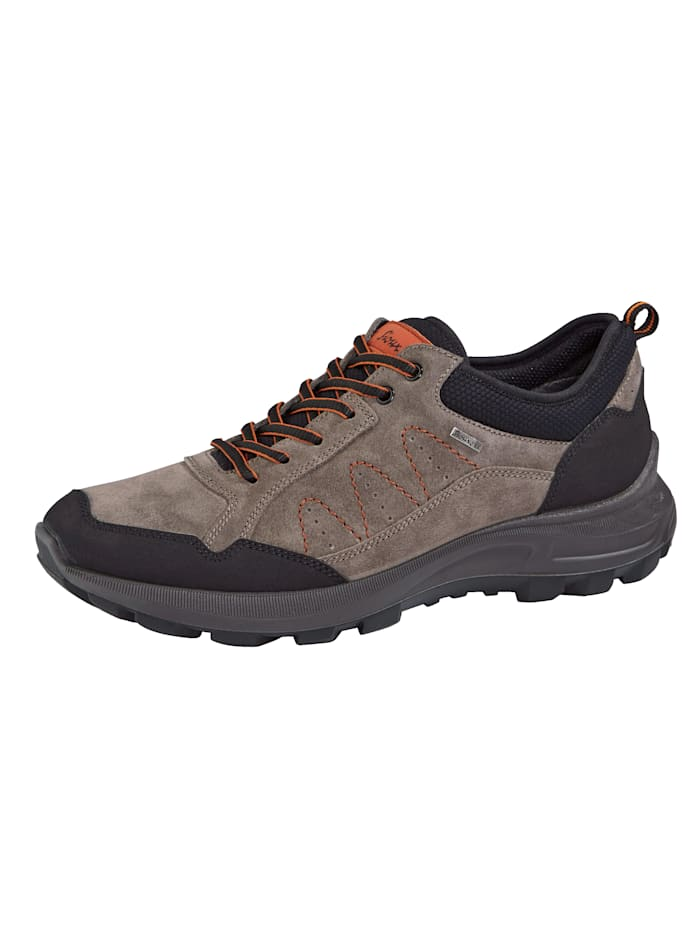 Sioux Chaussures de trekking à semelle Tex, Gris