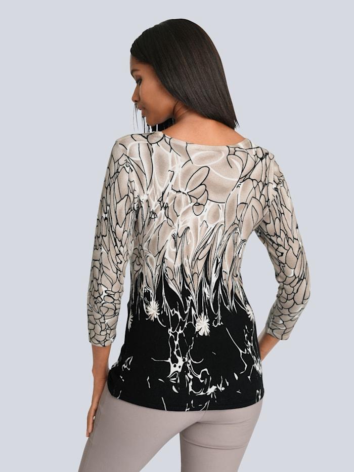 Pullover mit Strasssteinchen