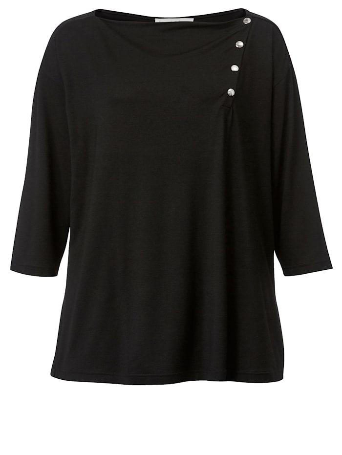 Shirt met drukknopen