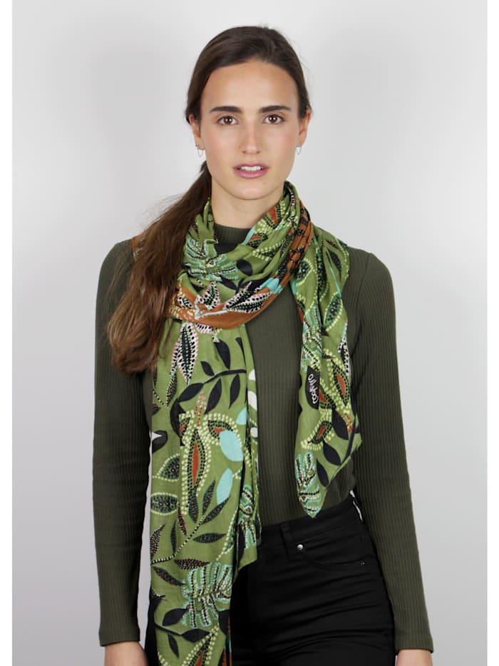 Edel-Schal aus nachhaltiger LENZING™ ECOVERO™ Viskose