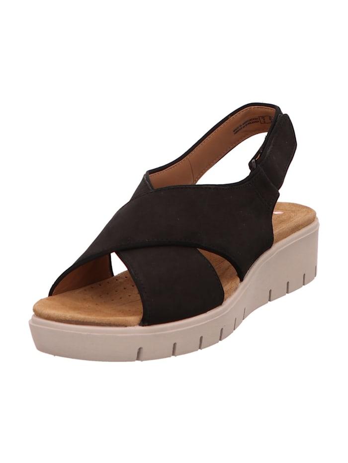 Clarks Sandale, schwarz