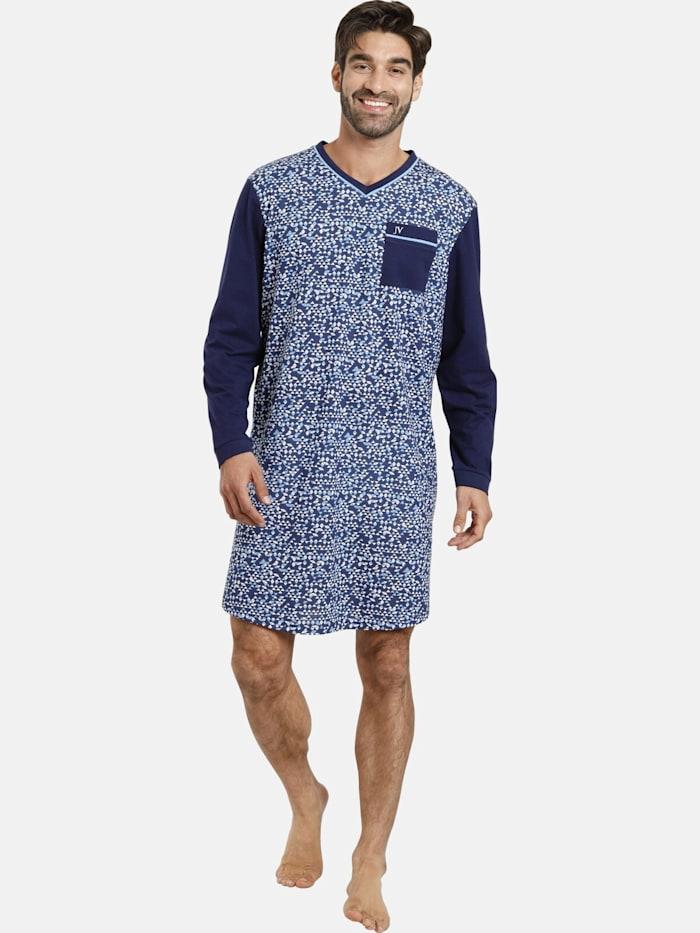 Jan Vanderstorm Nachthemd TIAN, dunkelblau