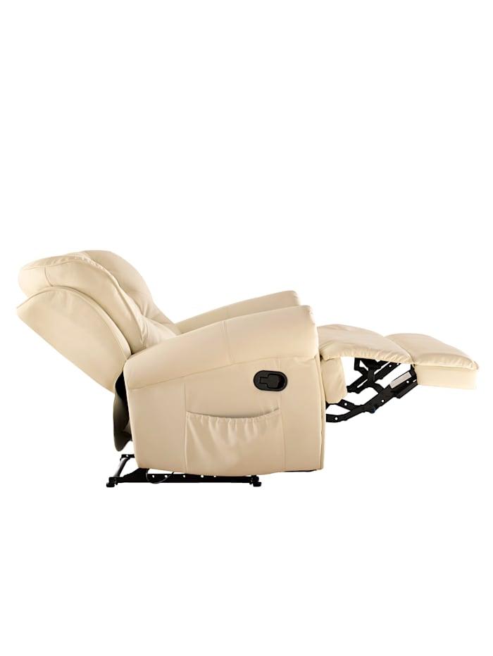 Relexsessel mit Aufstehhilfe und Massagefunktion