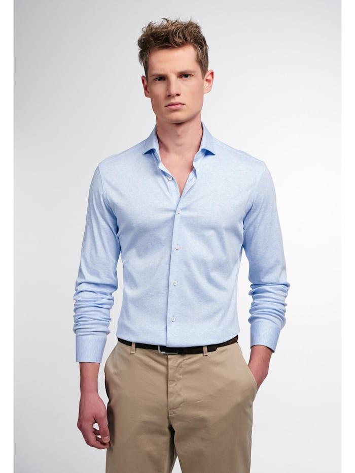 Eterna Eterna Langarm Hemd SLIM FIT, blau