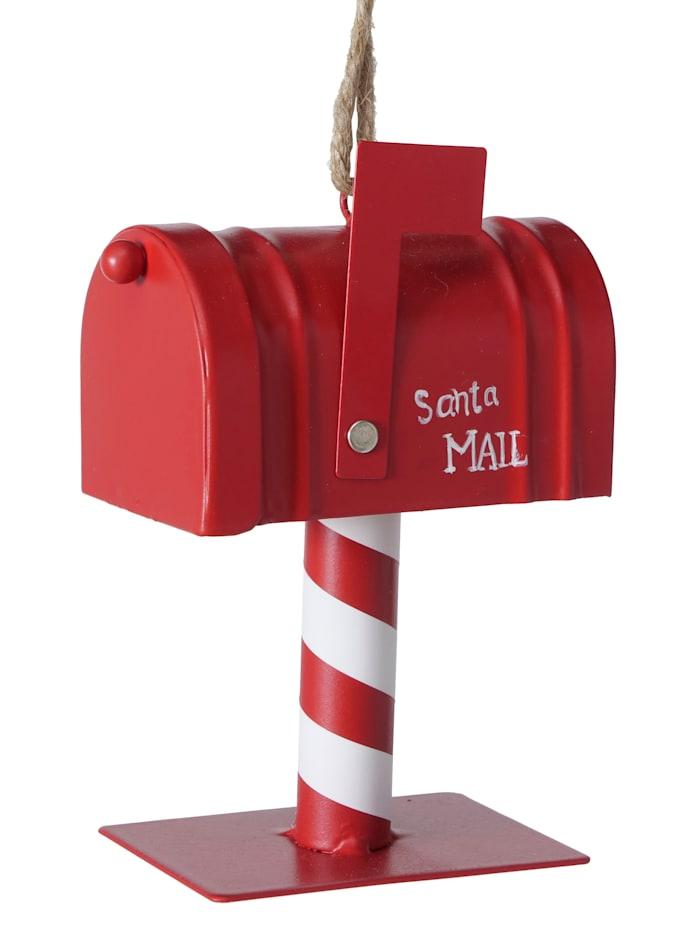Boltze Hänger, Santas Mailbox, Rot/Weiß