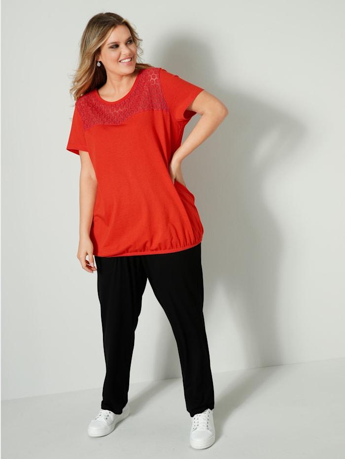 Jersey-Hose mit elastischem Bund