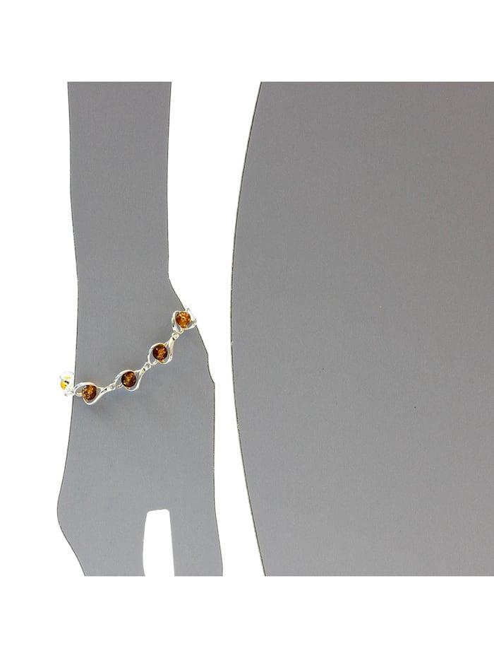Armband - Isabella - Silber 925/000 - Bernstein