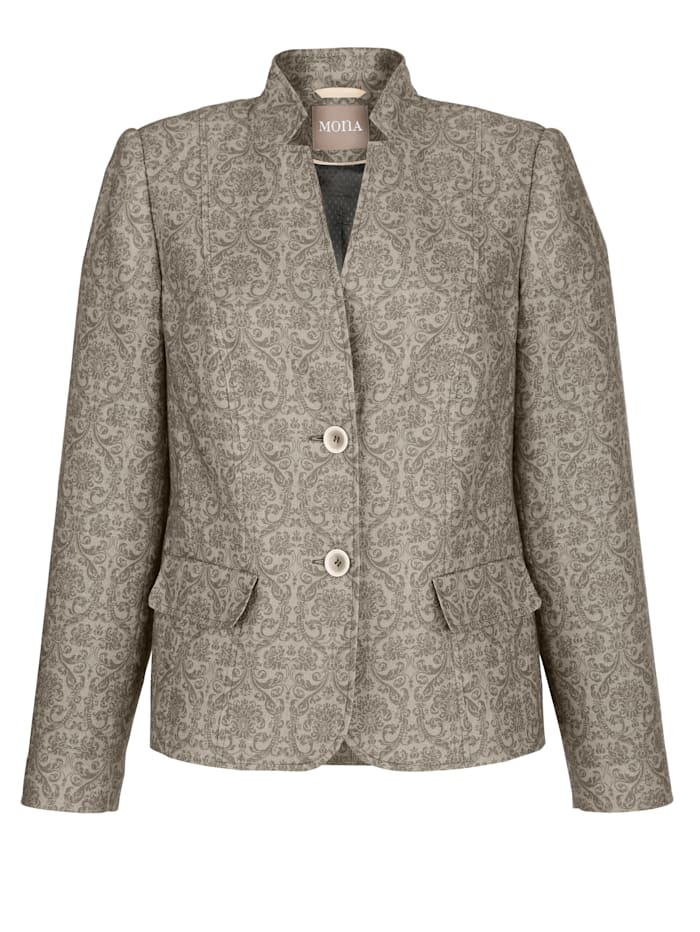 Blazer made from pure linen
