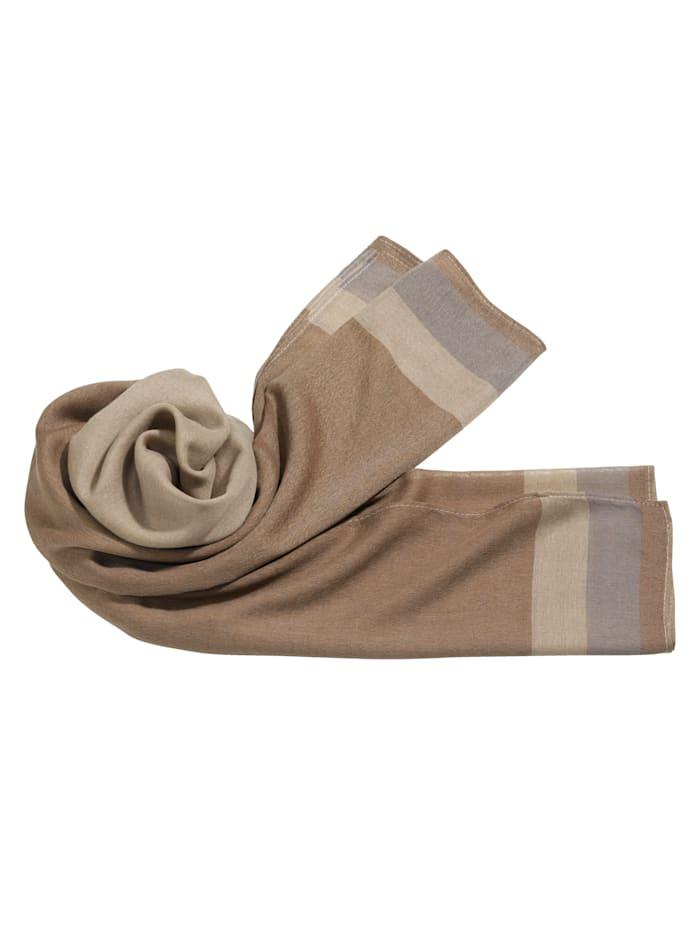 Sjaal, bruin
