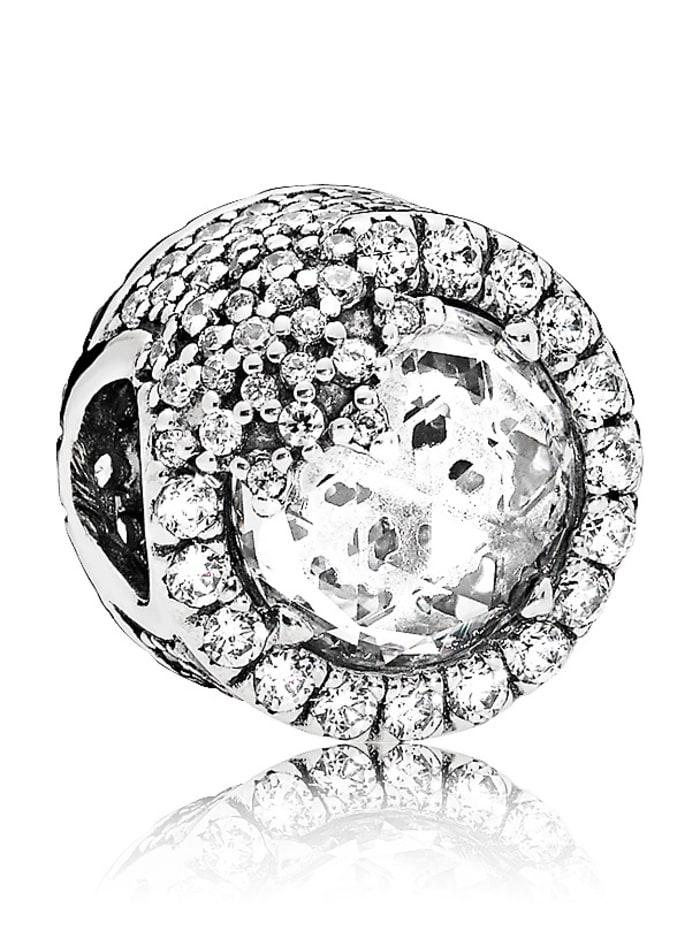 Pandora Charm Glanzvolle Schneeflocke 796358CZ, Weiß