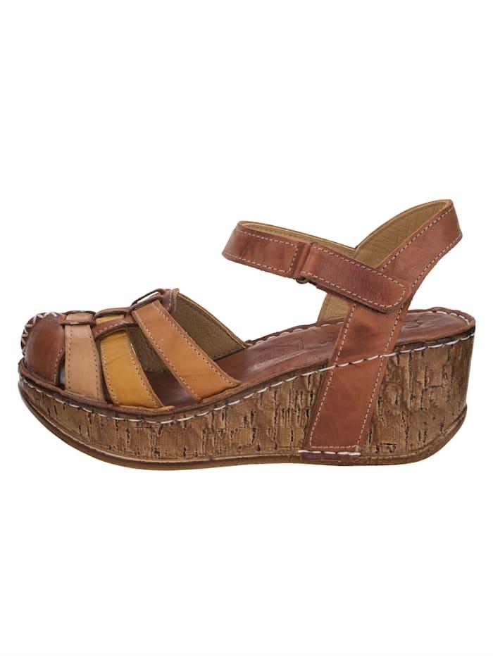 Sandaaltje met enkelriempje met klittenband