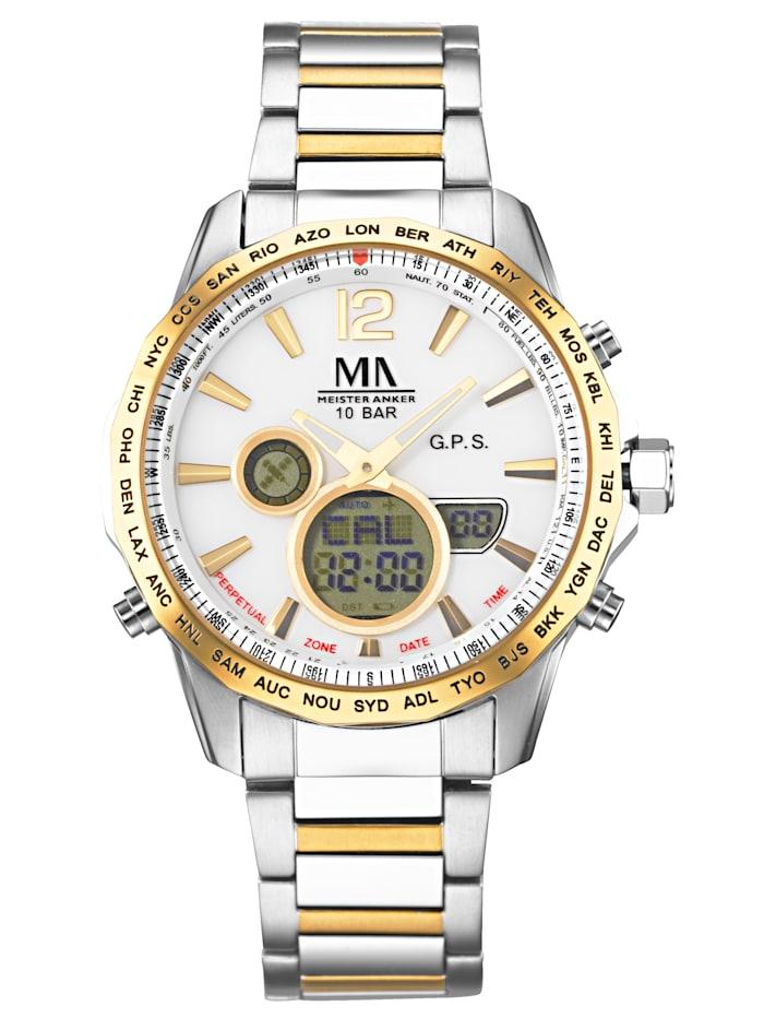 Herren-GPS-Funk-Uhr Chronograph