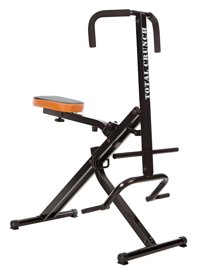 MediaShop Total Crunch - der perfekte Eigengewichts-Ganzkörpertrainer - für Zuhause - mit einem Bewungsablauf unzähliche Muskelgruppen trainieren, Schwarz