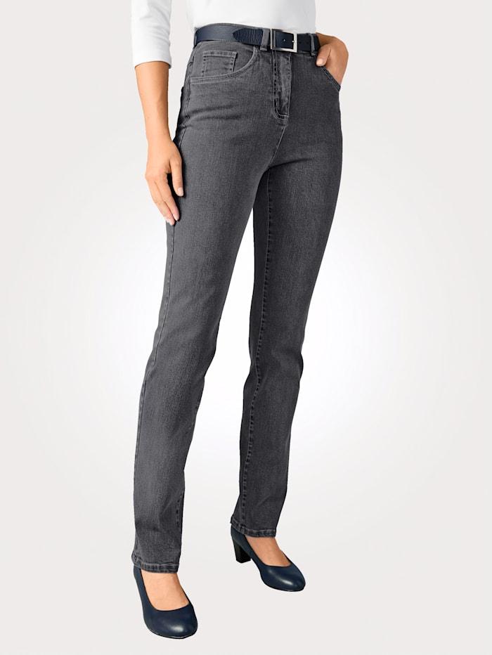 Paola Edeljeans in komfortabler Passform, Grey