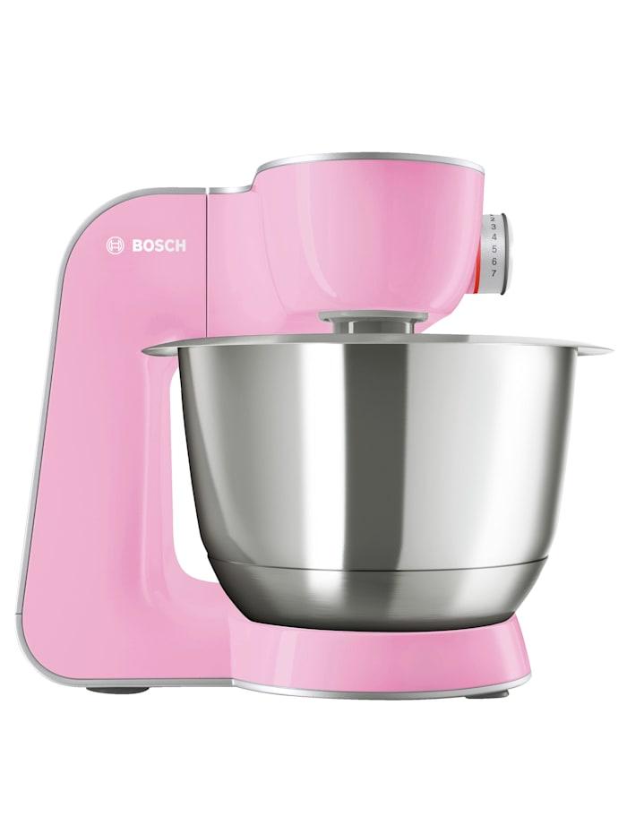 Bosch Bosch Universal-Küchenmaschine MUM58K20, gentle pink/silber, rosa