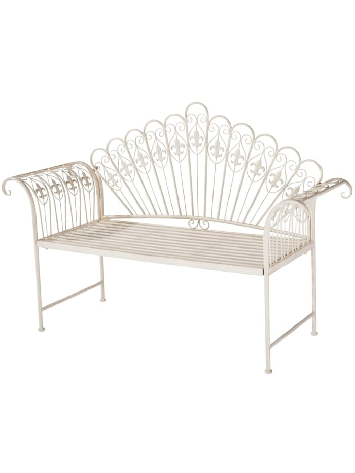 Living Outdoor-Bank, Offwhite