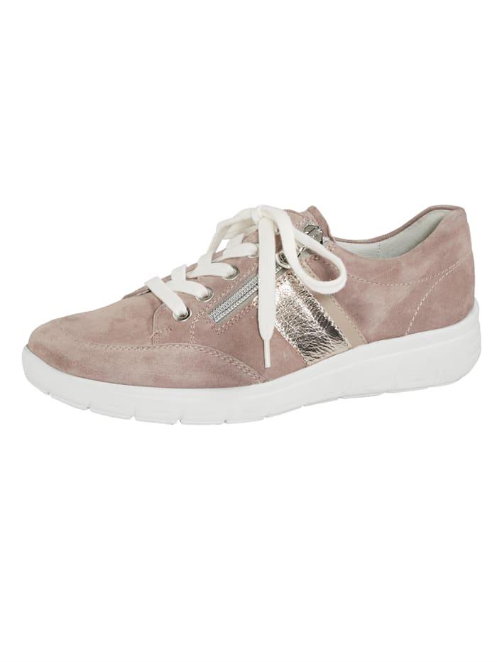 Vamos Šnurovacia obuv s podrážkou so vzduchovým vankúšikom, Ružová