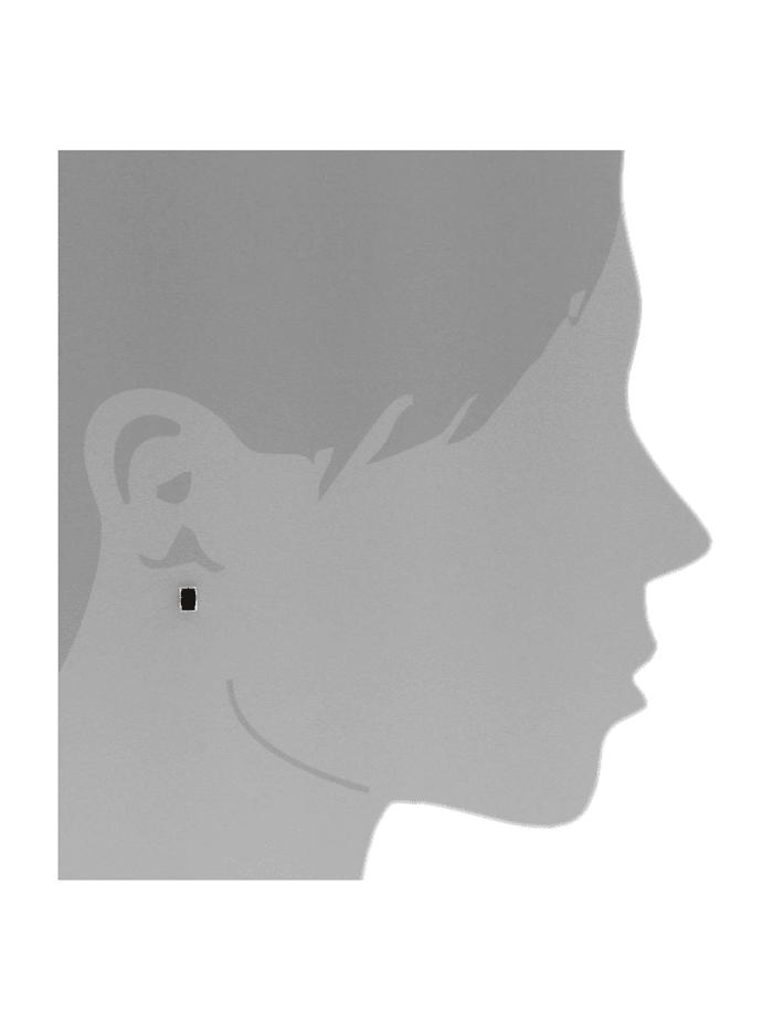 Ohrstecker - Classic 6x4 mm - Silber 925/000 - Bernstein